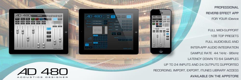 AD 480 Reverb App